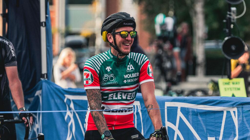 Cyclist at Big C Event